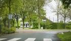 Boerderij De Lindenhof van B&B De HEEREN van TUIL gezien vanuit de Kortestraat