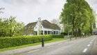 Boerderij De Lindenhof van B&B De HEEREN van TUIL gezien vanuit de Sint Antoniestraat