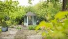 Theehuis in de tuin van B&B De HEEREN van TUIL